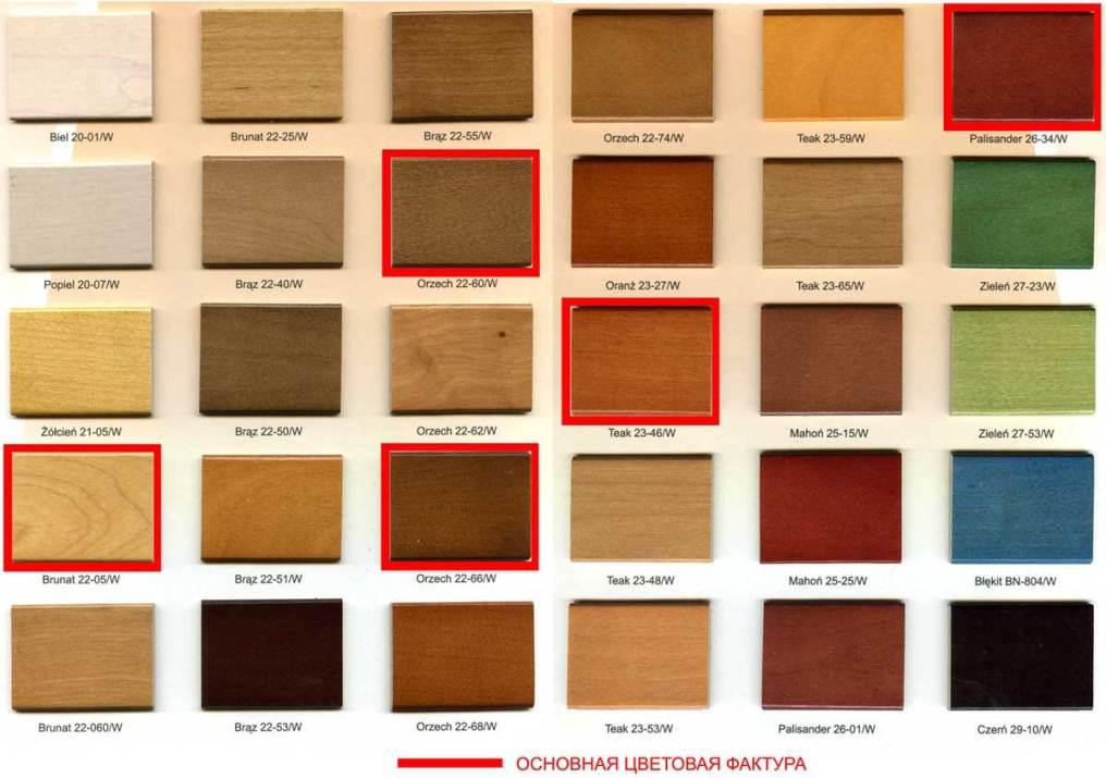 фото для цвета древесины мебели