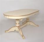 Стол обеденный овальный Азия (слоновая кость, патина золото),овальный стол,стол овальный раздвижной,стол обеденный овальный,купить овальный стол,стол обеденный овальный раздвижной, стол кухонный овальный,овальный стол на кухню,стол овальный недорого, стол овальный раскладной,стол овальный стеклянный,стол овальный деревянный,купить стол овальный раздвижной, купить овальный обеденный стол,стол овальный белый,стол овальный раздвижной недорого,недорогие овальные обеденные столы,