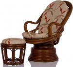 Кресло-качалка Camel с подушкой и банкеткой (007.013)