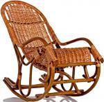 Кресло-качалка плетеное Усмань без подушки(019.001)