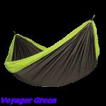 Туристический гамак для двоих Voyager Green, гамак туристический,купить гамак туристический,la siesta гамак туристический купить, купить туристический гамак +в москве,гамак туристический купить +в спб,интернет магазин гамаков,