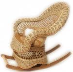 Кресло-качалка Ива 12,плетёная мебель,плетёная мебель из ротанга,плетёная мебель интернет магазин,плетёная мебель купить,плетёная мебель из лозы,плетёная мебель фото