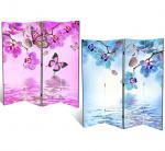 Орхидея и бабочки, двухсторонняя