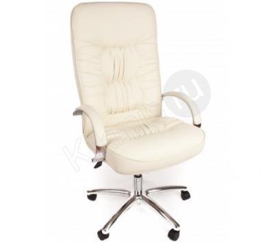 Кресло Болеро, эко кожа белая тг хром (CHAIRMAN 418),кресло руководителя,кресло руководителя купить,кресло руководителя черное,офисное кресло руководителя, кресло руководителя ch1,кресло руководителя кожа,кресло руководителя chairman,кресло руководителя кожаное, кресло руководителя бюрократ,кресло руководителя москва,кресло руководителя отзывы,кресло офисный,