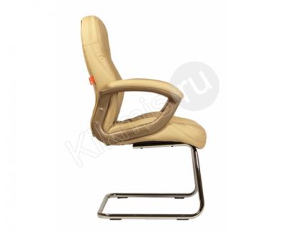 """Кресло для посетителей """"Флорида-2П"""" (слоновая кость)"""