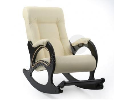 """Кресло-качалка """"Сочи"""" экокожа (венге/беж) с подножкой,кресло качалка,кресло качалка купить,кресло качалка в москве,кресло недорогой, купить кресло качалку в москве,кресло качалка недорого,купить кресло,кресло ротанг, кресло качалка купить недорого,кресло качалка из ротанга,кресло качалка магазин, недорогое кресло качалка в москве,купить кресло качалку в москве недорого,"""