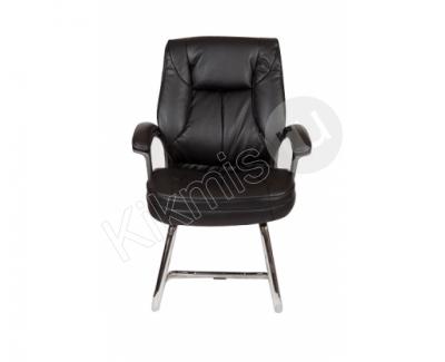 """Кресло для посетителей """"Вашингтон-2П"""" (черный)"""