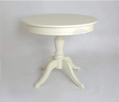 """Стол обеденный круглый """"Эгина-2"""" (слоновая кость/шпон бук) 90(120),стол обеденный,купить обеденный стол,столы обеденные раздвижные,стол трансформер обеденный, стол журнально обеденный,обеденный стол для кухни,обеденные столы и стулья,стол обеденный раскладной, стол обеденный стеклянный,стол обеденный недорого,стол обеденный белый,купить стол обеденный раздвижной,"""