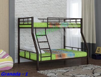 Кровать двухъярусная металлическая Granada - 1 RF,двухъярусная кровать,купить двухъярусную кровать,детские двухъярусные кровати, двухъярусная кровать для детей,двухъярусная кровать с диваном,двухъярусные кровати фото, кровать двухъярусная металлическая,двухъярусная кровать цена,авито двухъярусная кровать, детский кровать,купить кровать,кровать чердак,купить детский кровать,детский мебель,