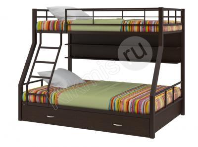 Кровать двухъярусная металлическая Granada - 1 с полкой и ящиком,двухъярусная кровать,купить двухъярусную кровать,детские двухъярусные кровати, двухъярусная кровать для детей,двухъярусная кровать с диваном,двухъярусные кровати фото, кровать двухъярусная металлическая,двухъярусная кровать цена,авито двухъярусная кровать, детский кровать,купить кровать,кровать чердак,купить детский кровать,детский мебель,