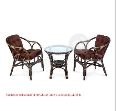 Комплект кофейный из ротанга TERRACE Set (стол и 2 кресла) 11/05,плетеная мебель,плетеная мебель из ротанга,плетеная мебель купить,плетеная мебель распродажа, плетеная мебель из ротанга распродажа,плетеная мебель для дачи,плетеная мебель из искусственного, плетеная мебель из искусственного ротанга,магазин плетеной мебели,плетеная мебель интернет, плетеная мебель недорого,плетеная мебель интернет магазин,плетеная мебель из лозы, купить плетеную мебель из ротанга,плетеная садовая мебель,плетеная мебель спб,