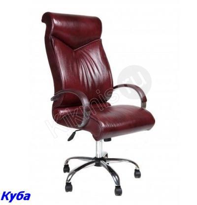 Кресло руководителя Куба СП кожа вишня, мтг хром (CHAIRMAN 420),кресло руководителя,кресло руководителя купить,кресло руководителя черное,офисное кресло руководителя, кресло руководителя ch1,кресло руководителя кожа,кресло руководителя chairman,кресло руководителя кожаное, кресло руководителя бюрократ,кресло руководителя москва,кресло руководителя отзывы,кресло офисный,