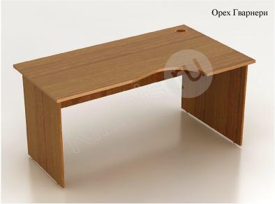 Стол криволинейный (СМ6.0П правый)   1600х900(700)х750,