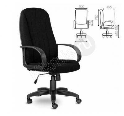 Офисное кресло руководителя «Сириус» (СН 685) черное пласт,кресло руководителя,офисный кресло,компьютерный кресло,компьютерный кресло купить, купить офисный кресло,офисный мебель,стул офисный,купить кресло, компьютерный стул,игровой кресло,кабинет руководитель,эргономичный кресло,