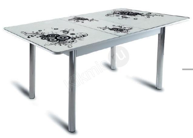 Белый стол на кухню