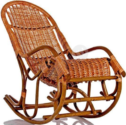 Кресло качалка плетеное своими руками