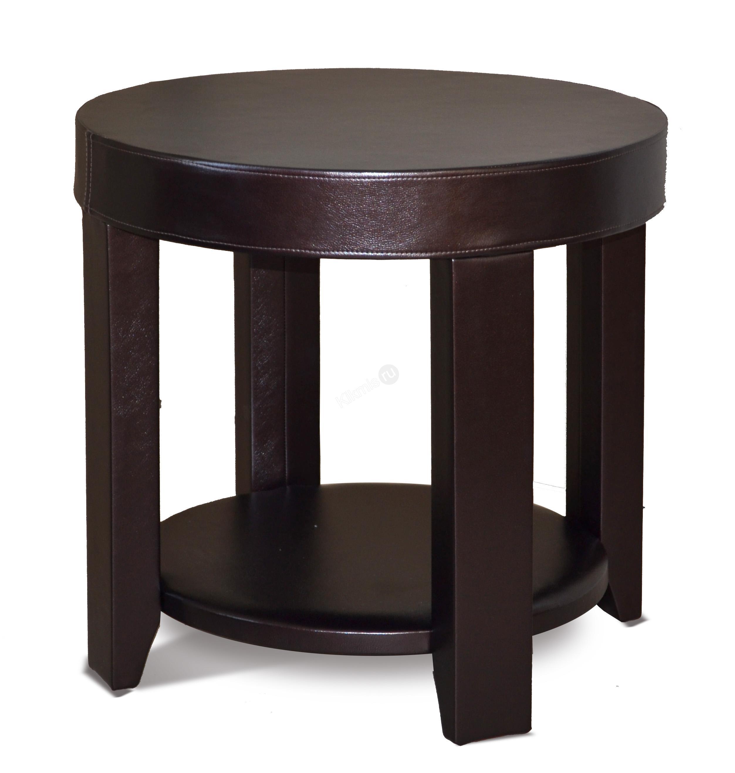 круглый журнальный столик сакура 1 ил 100 экокожа